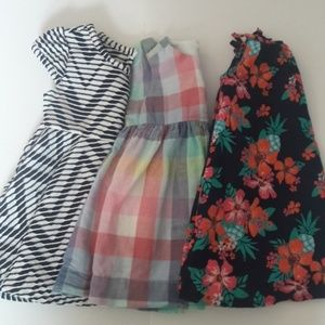 Toddler Girl's dress bundle 12 months